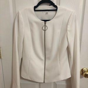 Calvin Klein's white blazer